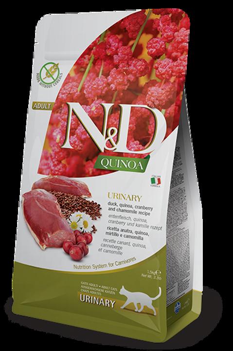 FARMINA - N&D Quinoa Sans Grains Urinaire Canard 3.3lbs