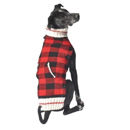 CHILLY DOG - Chandail en tricot Buffalo Plaid
