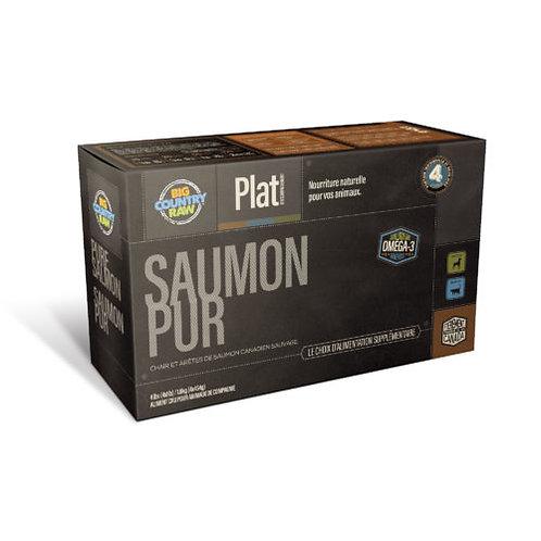BIG COUNTRY RAW - FORMULE PUR - Saumon - 4lbs (4 x 1lb)