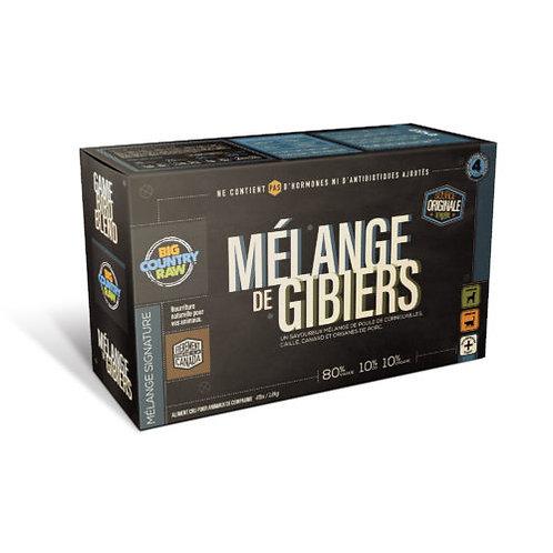 BIG COUNTRY RAW - MÉLANGE SIGNATURE - Mélange de Gibiers - 4lbs (4 x 1lbs)