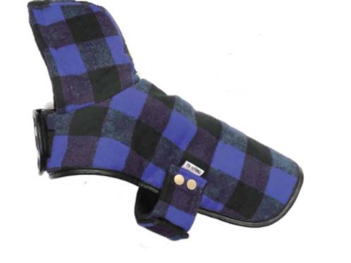 DOGGIE-Q - Manteau BÛCHERON Bleu - pour petits chiens