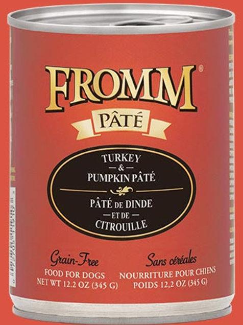 FROMM - Sans Grains Pâté Dinde et Citrouille 345g