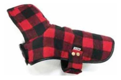 DOGGIE-Q - Manteau BÛCHERON Rouge - pour petits chiens