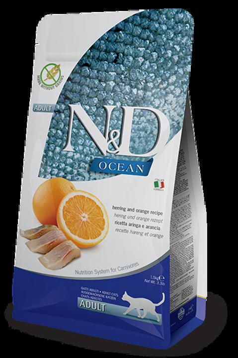 FARMINA - N&D Prime Sans Grains Poisson et Orange 11lbs