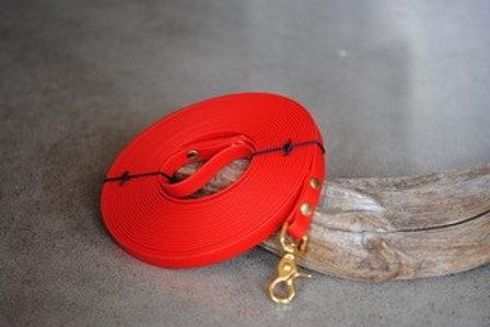 LA VIE AU LAC - Longe Biothane Rouge
