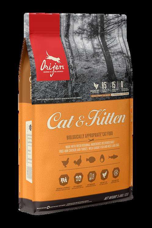 ORIJEN - Sans Grains Cat & Kitten 4lbs