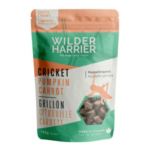 WILDER HARRIER - Gâteries tendres grillon, citrouille et carotte (130g)