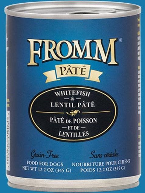 FROMM - Sans Grains Pâté Poisson et Lentilles 345g
