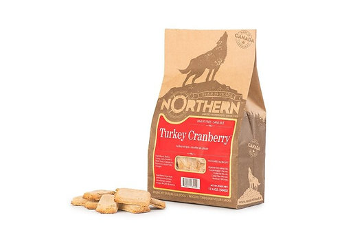 NORTHERN - Gâteries Dinde et Canneberges sans blé (500g)