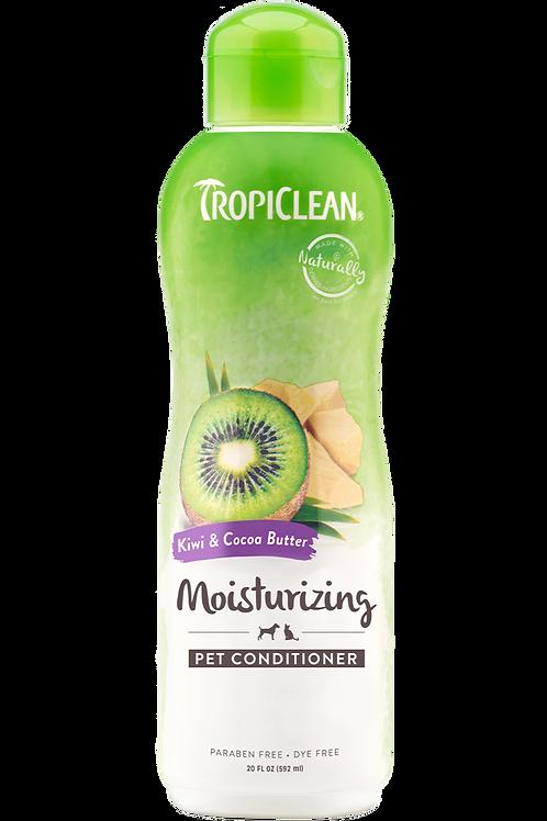 TROPICLEAN - Conditionneur *Hydratation Profonde* Kiwi et Beurre de Cacao 20oz