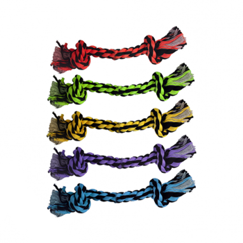 MULTIPET - Corde 2 nœuds 9''