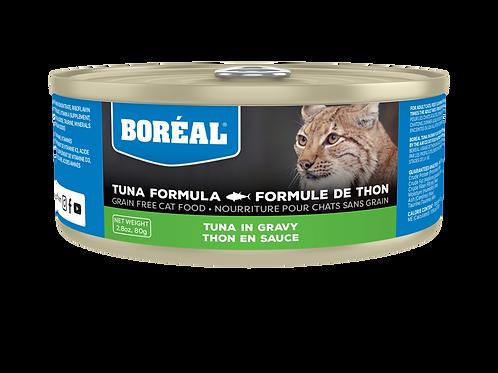 BORÉAL - Sans Grains Thon en Sauce 156g