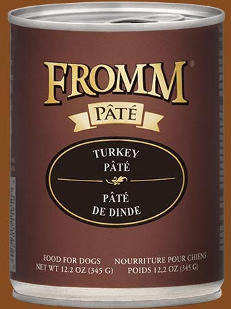 FROMM - Avec Grains Pâté Dinde 345g
