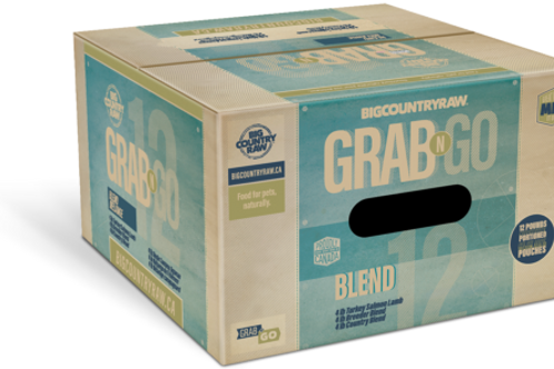 BIG COUNTRY RAW - Forfait Mélange (BLEND DEAL) - 12lbs (3 x 4lbs)
