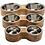 Thumbnail: GF PET - Bol double en bois de manguier - 3 grandeurs disponibles