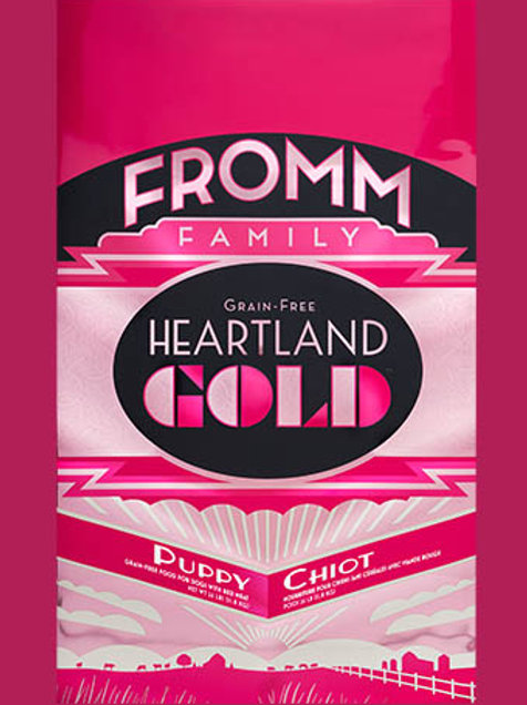 FROMM - Gold Heartland Sans Grains Chiot 12lbs