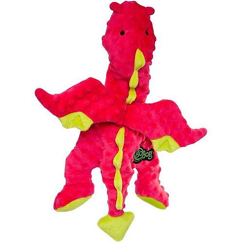 GODOG - Dragon Rose plat avec technologie Chew Guard