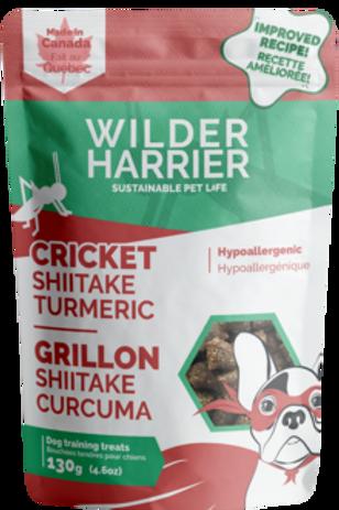 WILDER HARRIER - Gâteries tendres grillon, shiitake et curcuma (130g)