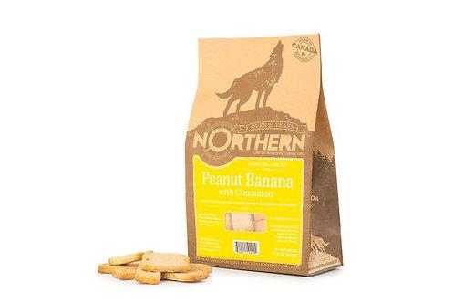 NORTHERN - Gâteries Beurre d'arachide et Banane sans blé (500g)