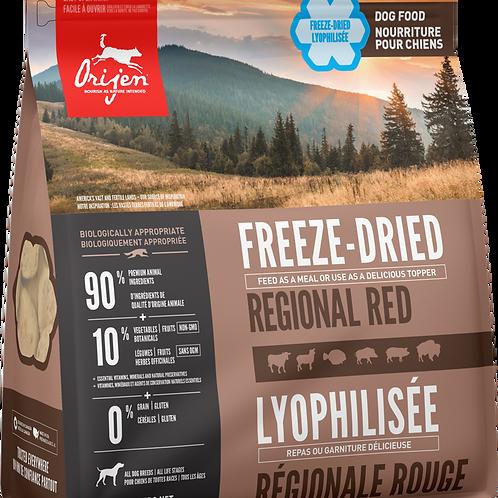 ORIJEN - Lyophilisée Regional Red 454g
