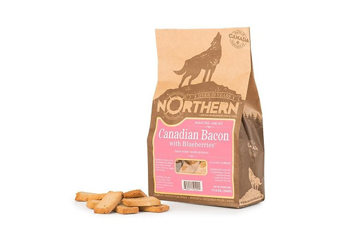 NORTHERN - Gâteries Bacon et Bleuets sans blé (500g)