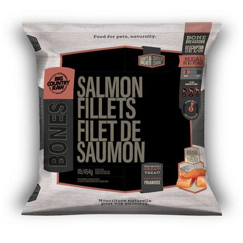 BIG COUNTRY RAW - Filets de Saumon - 1lb