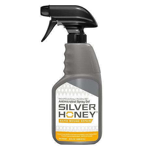 ABSORBINE-Silver Honey Gel en vaporisateur pour réparation rapide des plaies-8oz