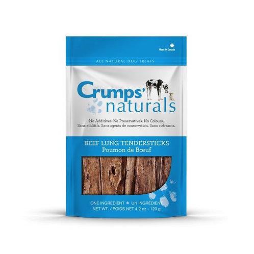 CRUMP'S NATURALS - Bâtonnets de poumon de bœuf (120g)