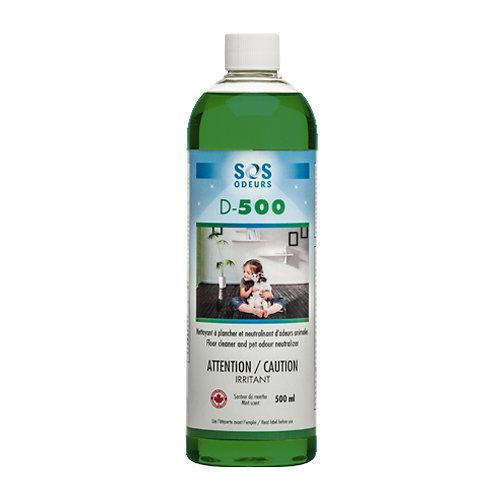 SOS ODEURS - D-500 Nettoyant et neutralisant d'odeurs 500ml