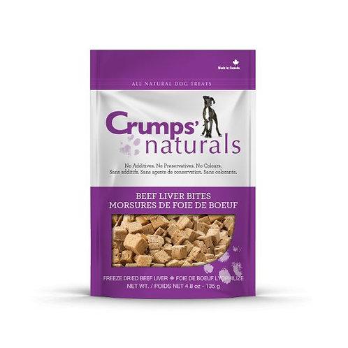 CRUMP'S NATURALS - Bouchées de foie de bœuf lyophilisées - Prix à partir de
