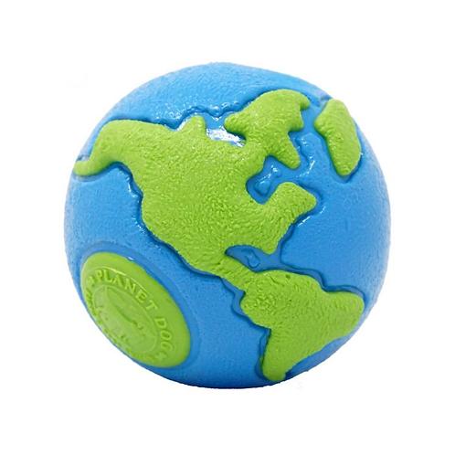 PLANET DOG - Balle Orbee Tuff Planète Bleue/Verte - Prix à partir de