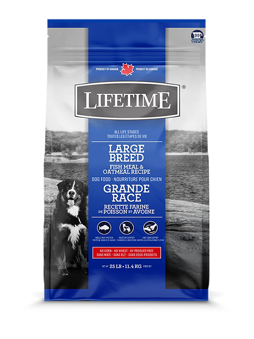 LIFETIME - Grande Race Poisson et Avoine 25lbs