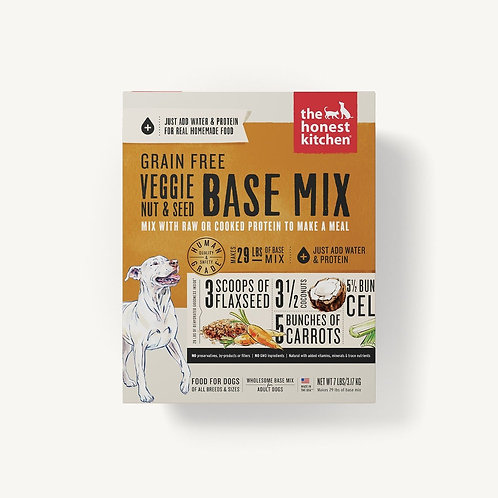 THE HONEST KITCHEN - Base Mix Légumes et Noix Sans Grains (3lbs)