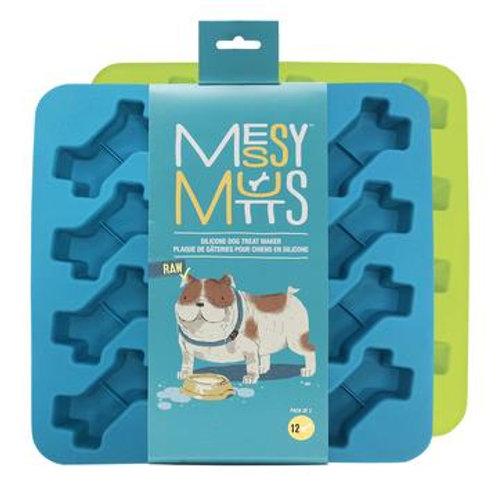MESSY MUTTS - Moules en silicone - paquet de 2