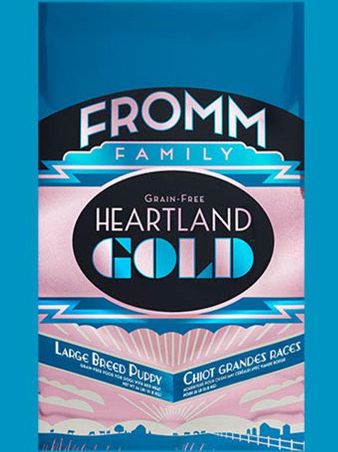 FROMM - Gold Heartland Sans Grains Chiot Grande Race 26lbs