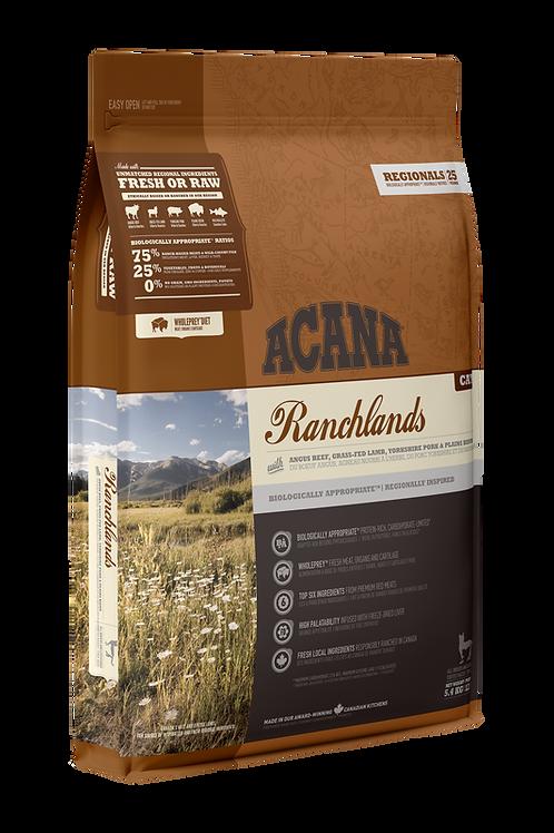 ACANA - Regionals Sans Grains Ranchland 4lbs