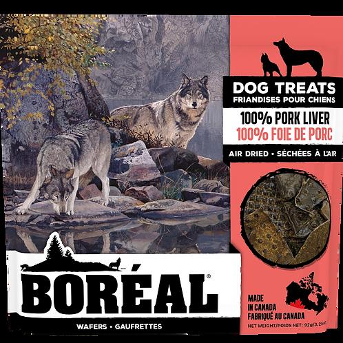 BORÉAL - Gâteries séchées à l'air 100% Foie de Porc