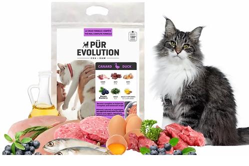 PÜR EVOLUTION - Canard 8.8lbs - Repas pour chats