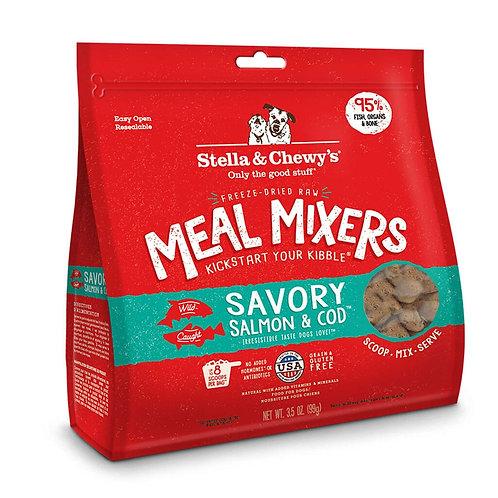 STELLA & CHEWY'S - Mélange repas MEAL MIXERS lyophilisé Saumon et Morue (18oz)