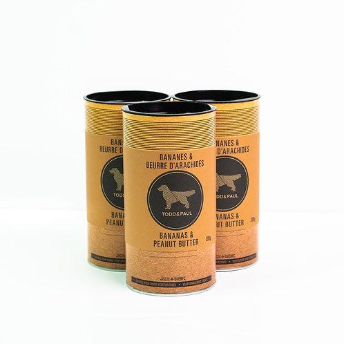 TODD & PAUL - Biscuits Bananes & Beurre D'arachides - 200g