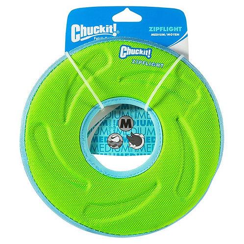 CHUCKIT! - Frisbee ZIPFLIGHT Vert Moyen