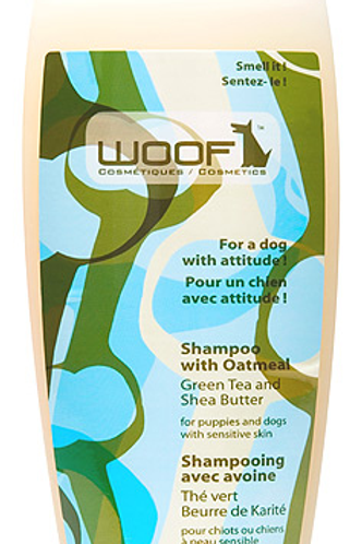 WOOF - Shampoing Thé Vert et Beurre de Karité 325ml
