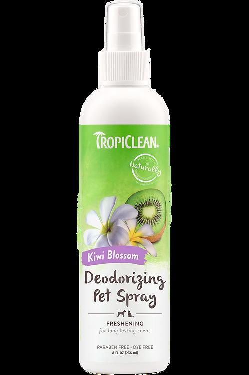TROPICLEAN - Désodorisant fleur de kiwi pour chiens 8oz