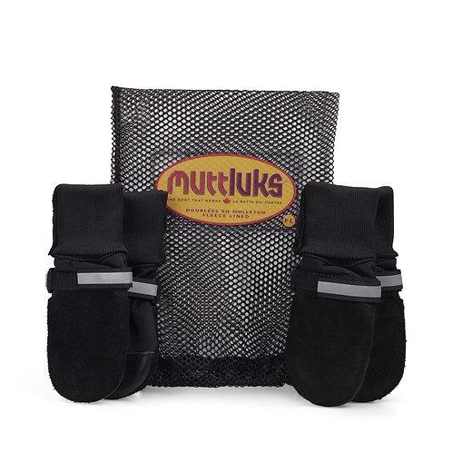 MUTTLUKS - Bottes d'hiver doublées Fleece Lined Noir - 4 bottes/pqt