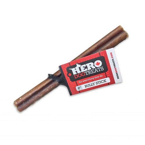 HERO DOG TREATS - Bâtonnets de Boeuf - 6''
