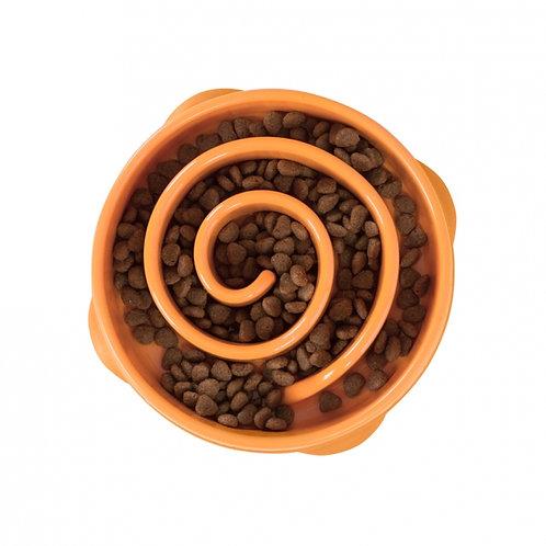 OUTWARD HOUND - Bol Ralentisseur FUN FEEDER Orange Mini