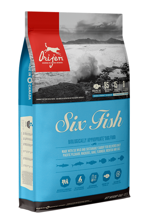 ORIJEN - Sans Grains Six Fish 25lbs