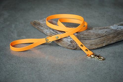LA VIE AU LAC - Collection Minimaliste Laisse Biothane 4' - Orange