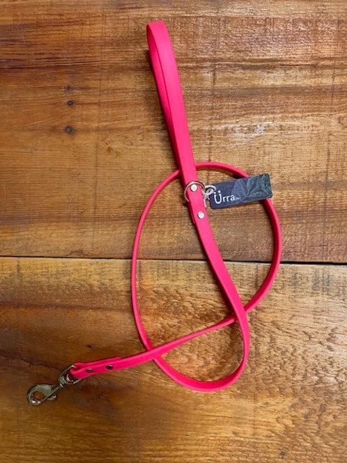 Ürra - Laisse Classique 5/8'' Biothane 4 pieds - Rose Fluo