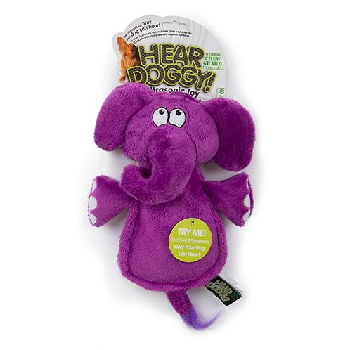 HEAR DOGGY - Éléphant avec couineur ultrasonique